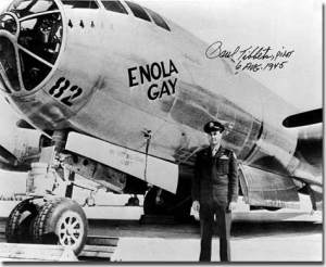 Enola Gay e Paul Tibbet
