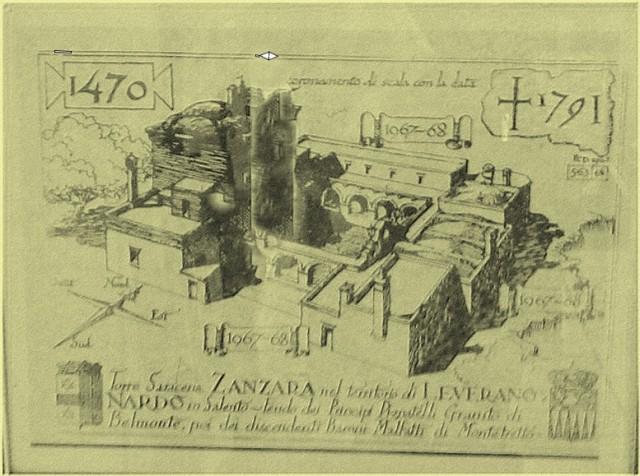 La Sanzara nel 1471
