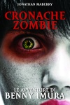 Astonished young man, gothic zombie look, people diversity