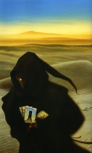 michael whelan_the gunslinger_the man in black fled across the desert1