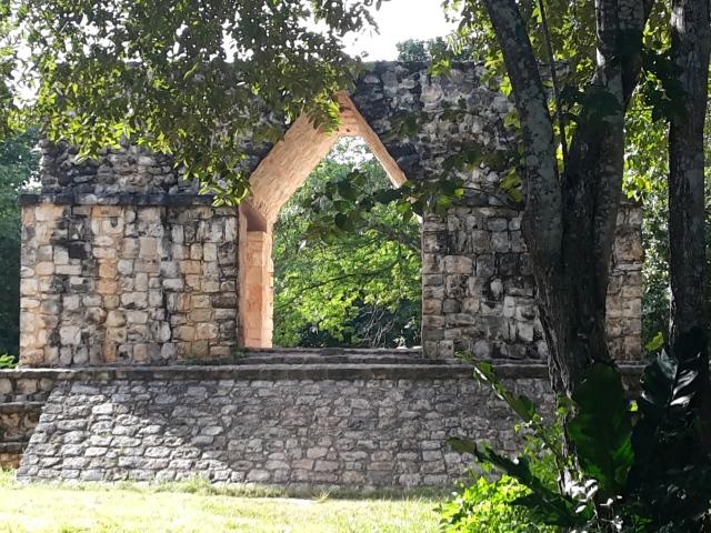 La falsa volta maya